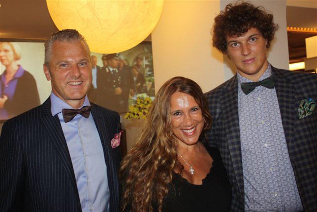 Franz, Daniela e Alexander Kraler