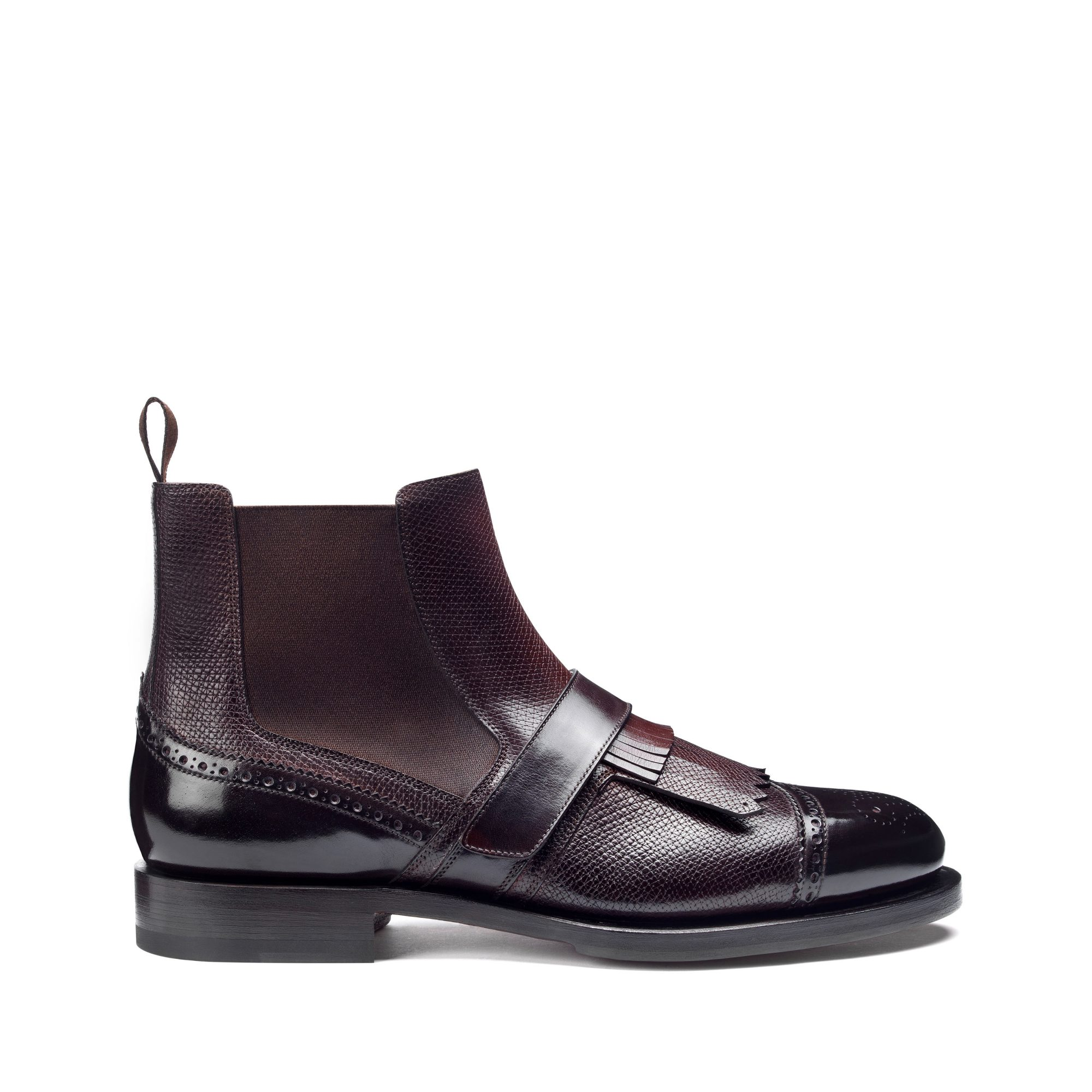 Santoni Beatles Bordeaux