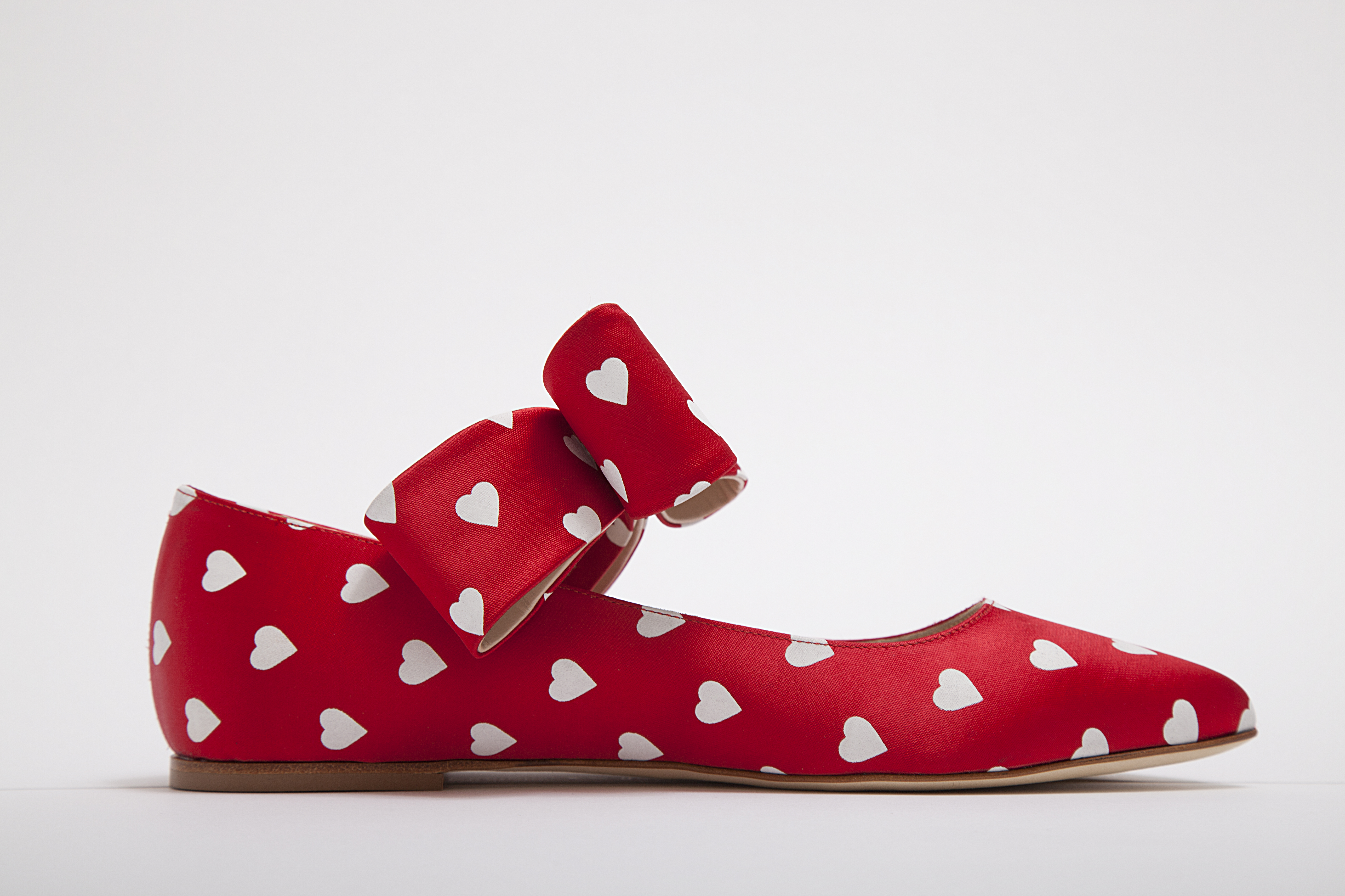 Polly Plumes SS 18 bonnie bow crazy in love red side